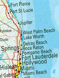 Map Of Florida Showing Boca Raton.Boca Raton Vacation Rentals House Condo And Villa Rentals Boca