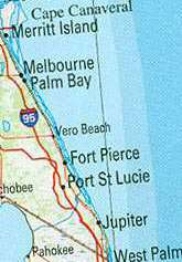 Fort Pierce Map Of Nearby Cities