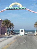 Flagler Avenue - New Smyrna Beach, Florida