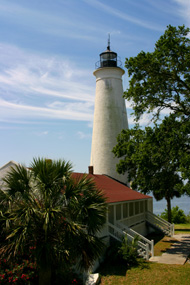 Visit St. Marks Lighthouse from Florida Gulf Coast Rentals